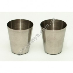 25442 ( Cтопки металлические высота 5 см диаметр 5,5 см)