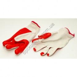 2000кб Перчатки плотные красно-белые