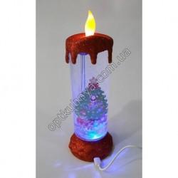 8 Свеча новогодняя