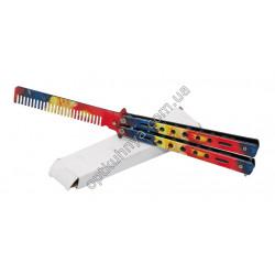 28151 Нож раскладной Бабочка учебный
