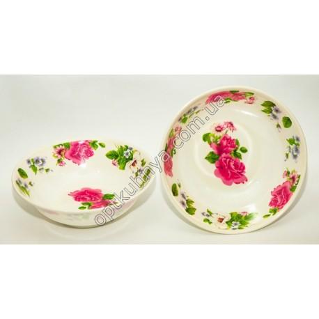 864 (Суповая глубокая тарелка меломин диаметр 20см и глубина 6см )