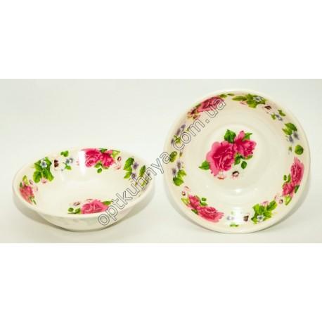 854 (Суповая глубокая тарелка меломин диаметр 18см и глубина 5см )