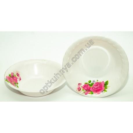 1694 (Тарелка суповая глубокая меломин диаметр 20см глубина 5см)