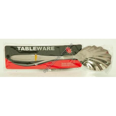 """13942 ( Ложка ракушка средняя хорошего качества """"TABLEWARE"""")"""