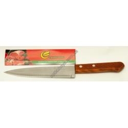 23211 (Нож кухонный с деревянной ручкой большой )