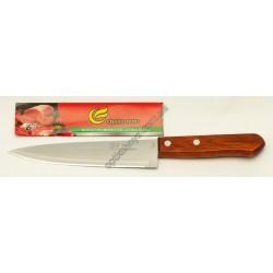 23201 (Нож кухонный с деревянной ручкой средный )
