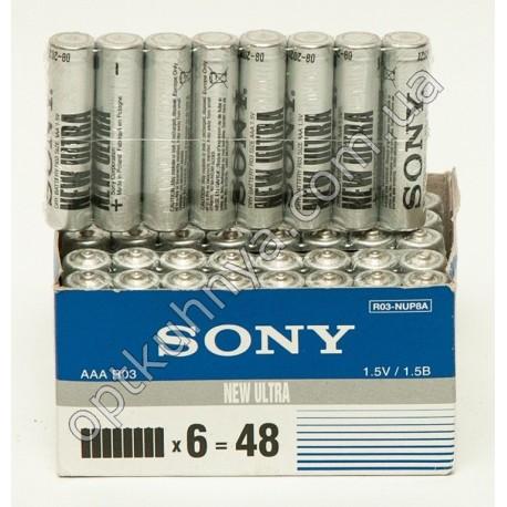 393 ( Батарейки SONY микро (уп. 48 шт.))