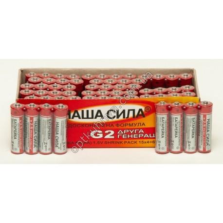 392 (Батарейки НАША СИЛА микро (уп. 60 шт.))