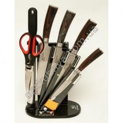 12531 (Набор ножей на подставке стал 4 шт +ножницы +муссат)