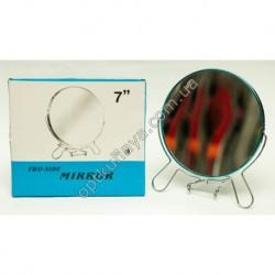 17316 (Зеркало двухсторонее с металической оправой р/р 7 )