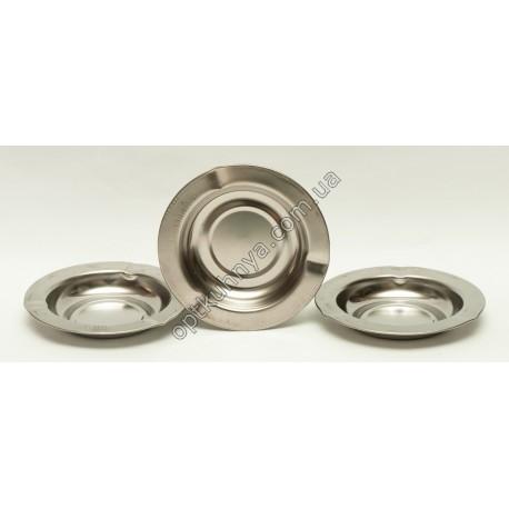10743 ( Пепельница круглая металлическая)