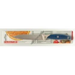 8761 (Нож кухонный с пласмасовой ручкой малиньки ТРАМАНТИНА)