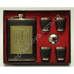 18122 ( Набор фляга 4 стаканчика и леечка к фляге)